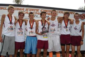 JenksXC Boys 1st place