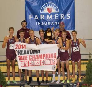 Jenks XC State Champions 2014